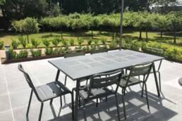 Installation terrasse dalles