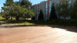 Aménagement de terrasse professionnelle - Hôtel Mercure à Lesquin