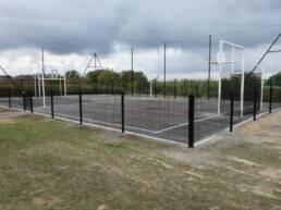 Aménagement terrain multisports à Hem - Thieffry Parc et Jardin