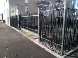 Pose clôtures, grillage en noue acier galvanisé
