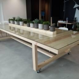 Végétalisation de l'espace de vie de l'entreprise - Lille